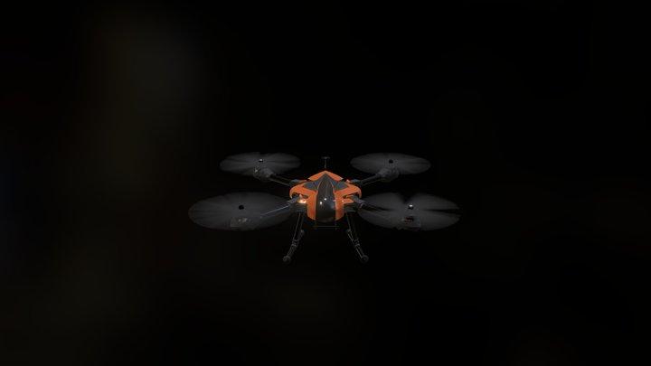 Hornet Drone 3D Model