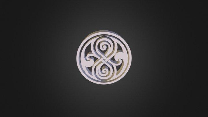 Seal of Rassilon 3D 3D Model