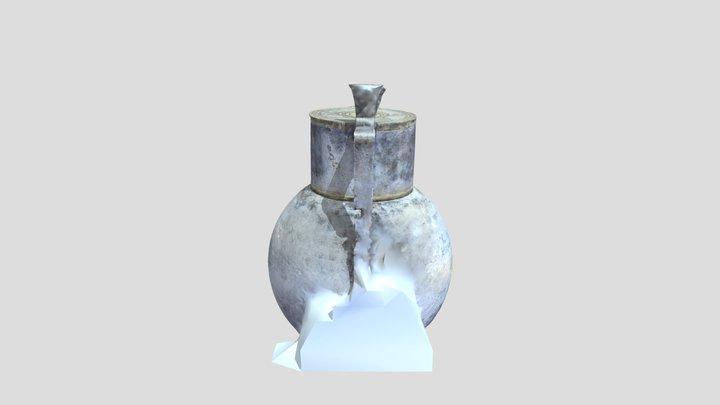 Кумуш идиш / Vessel / Серебряный сосуд 3D Model