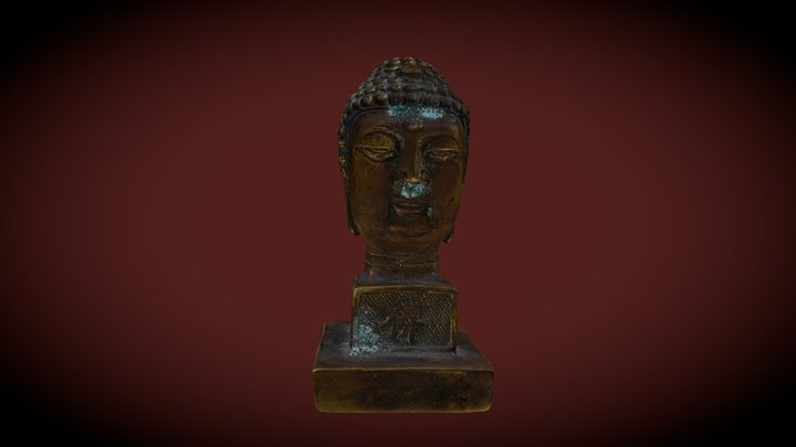 Bronze Bhudda, from Three Gorges Dam site 3D Model