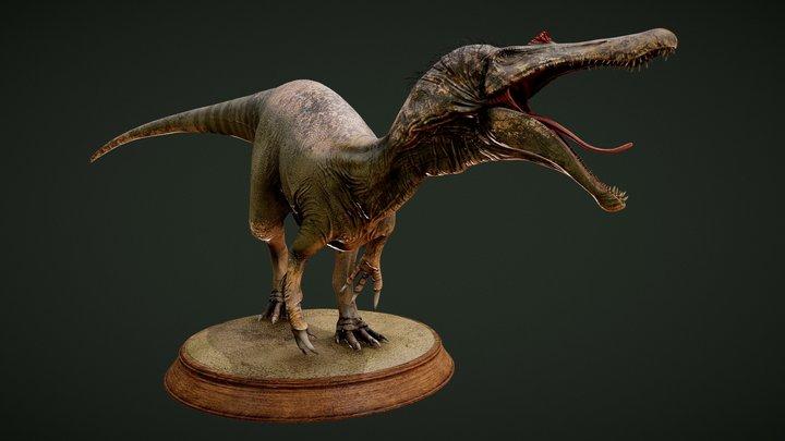 Baryonyx 3D Model