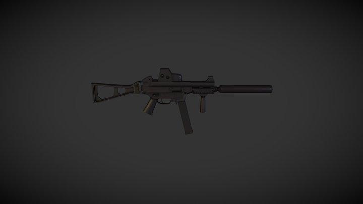 H&K UMP45 SPECIAL FORCES 3D Model