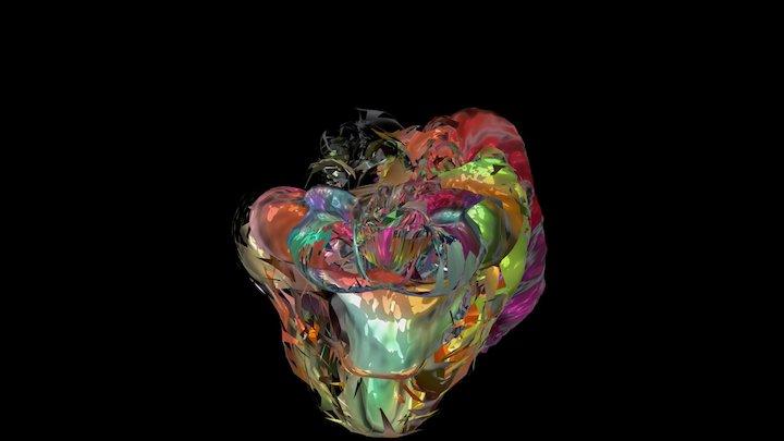 BilletraxDavidatlas_Abstracta 3D Model