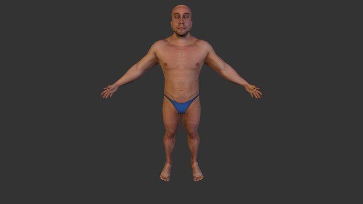 Retop_Materialized_Update01 3D Model