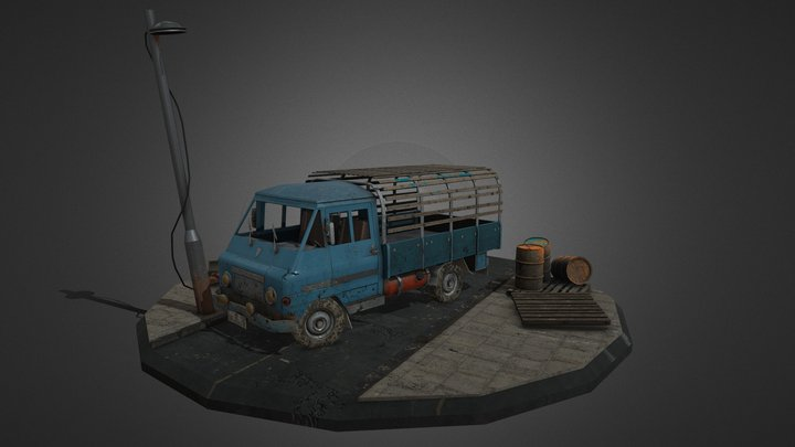 Zuk 3D Model