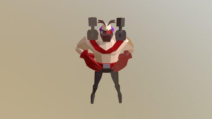 Bomber - Idle 3D Model