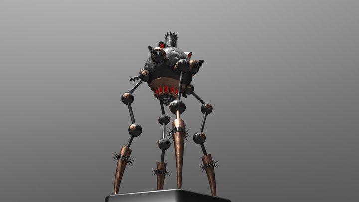 War Bot 3D Model