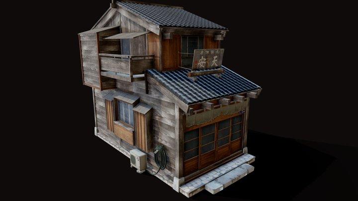 Fisher Village of Tsukishima 3D Model