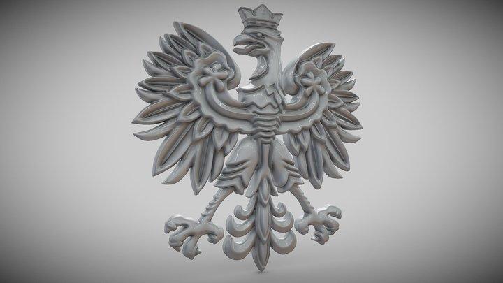 Polish Eagle 3D Model