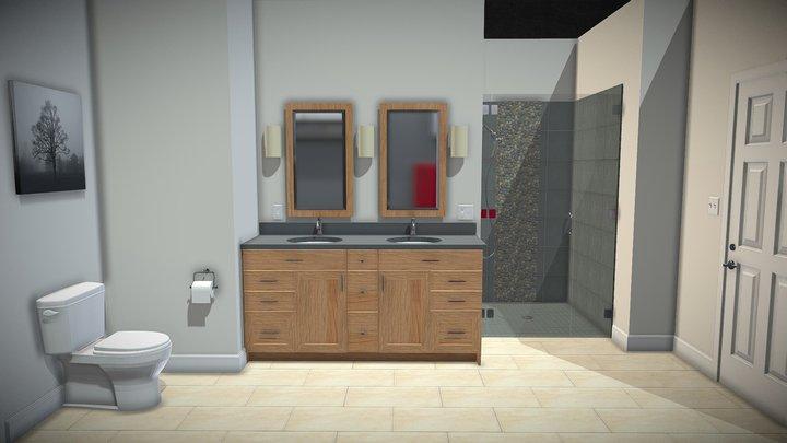 3D Bath 3D Model