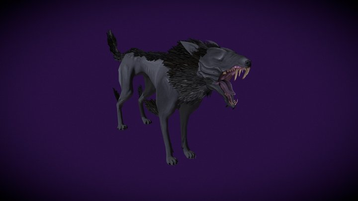 ShadowDog 3D Model