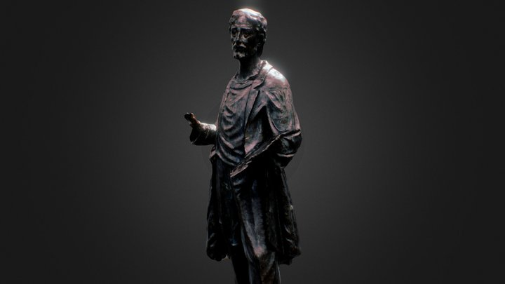 Statue from Olot (Spain) 3D Model