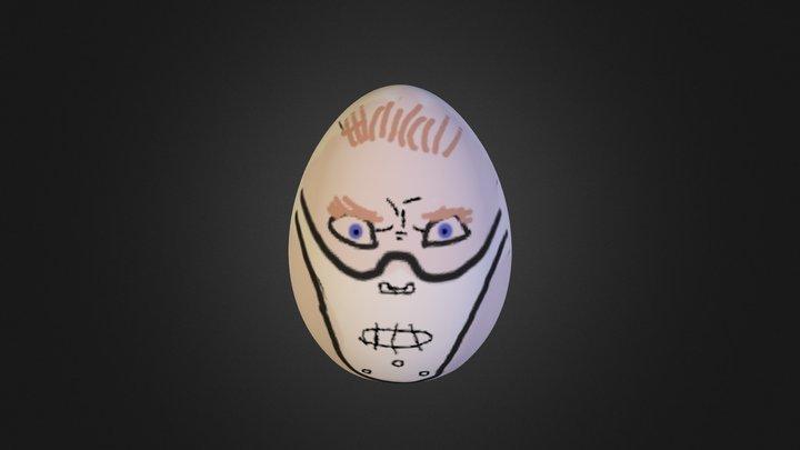 Lecter Egg 3D Model