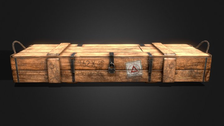 Battlefield 1 Battlepack 3D Model