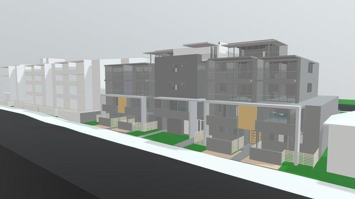 Brunker road sketch phase 3D Model