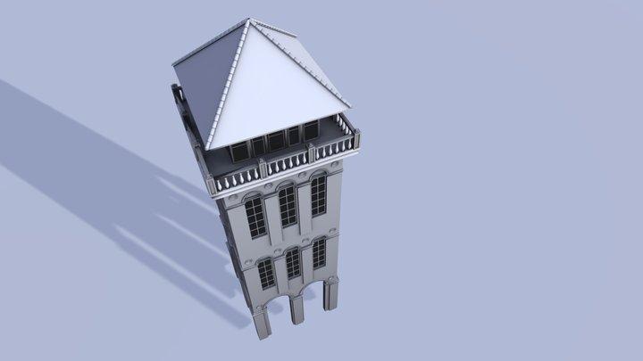 Tower Building ( Progress ) 3D Model