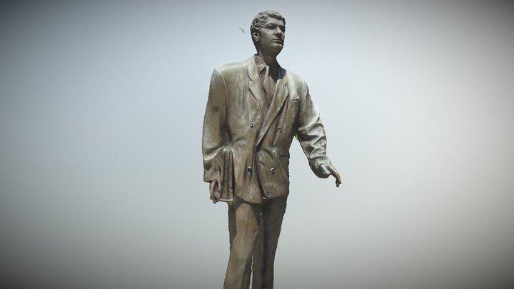 Statue - Straße der Erinnerung 3D Model
