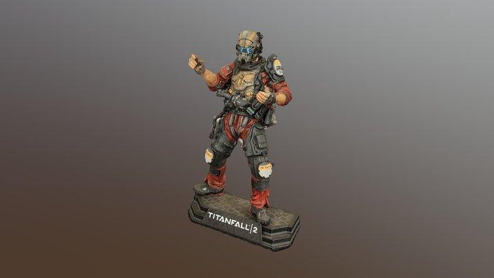 Jack Cooper 3D Model