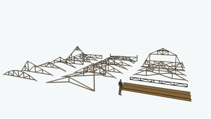 Truss_YARD4 - http://design.medeek.com 3D Model