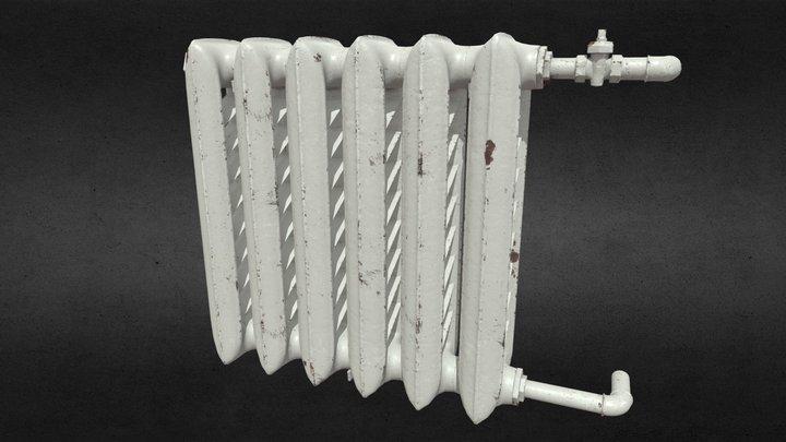 Cast iron radiator 3D Model