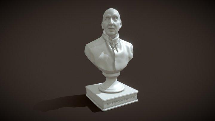 Stephen Jones Bust 3D Model