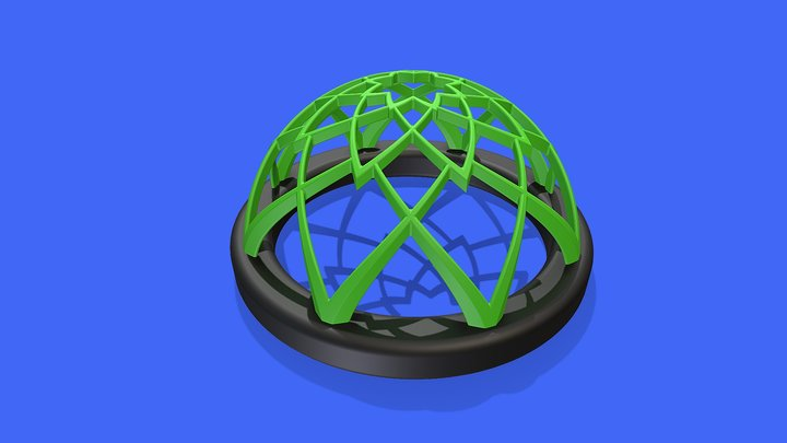 Lotus Feeder Ring 3D Model