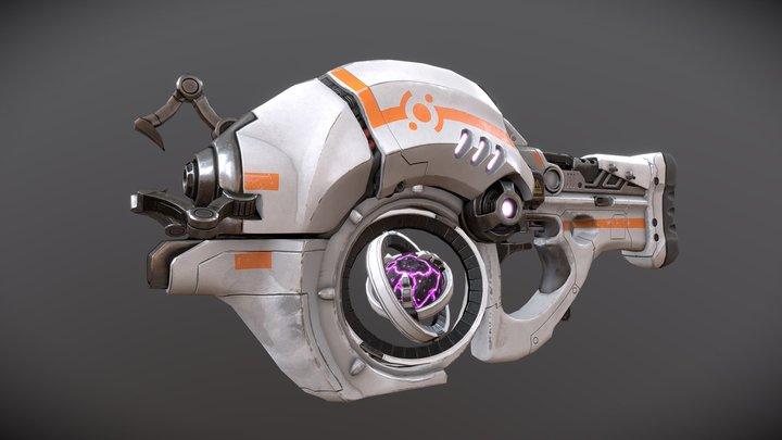 Gravity Gun 3D Model