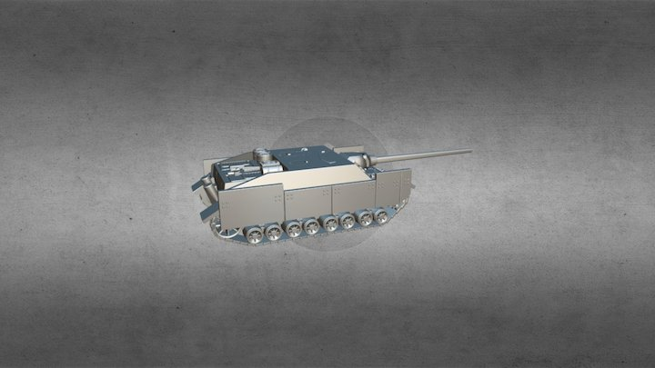 panzer IV/70 (V) / jagdpanzer IV/70 (V) 3D Model
