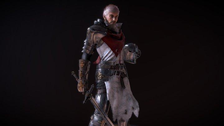Ravens S2: Templar Knight Preview 3D Model