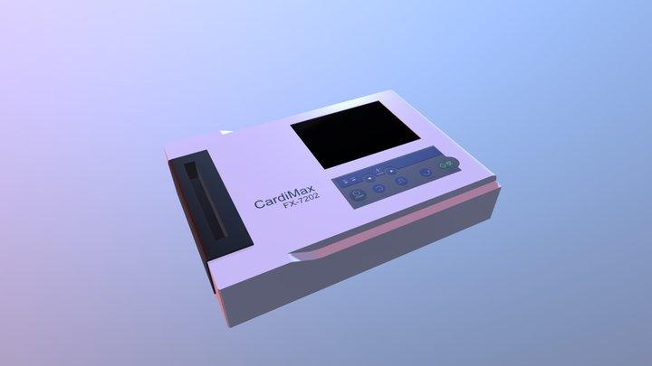Electrocardiograph 3D Model