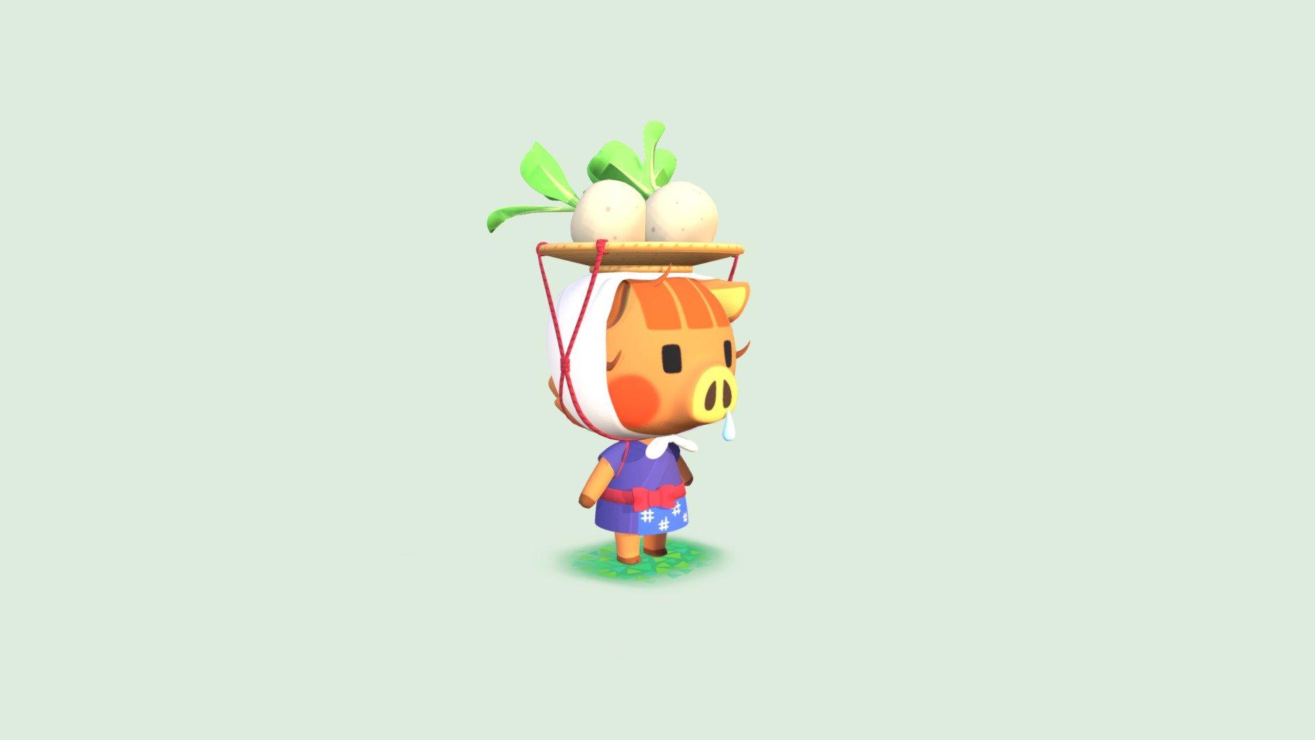Daisy Mae Animal Crossing New Horizons 3d Model By Katieemmaw Katieemmaw 0ad931f Sketchfab