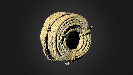 Fishing Rope 3D Model