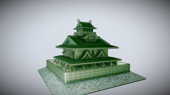 長浜城 3D Model