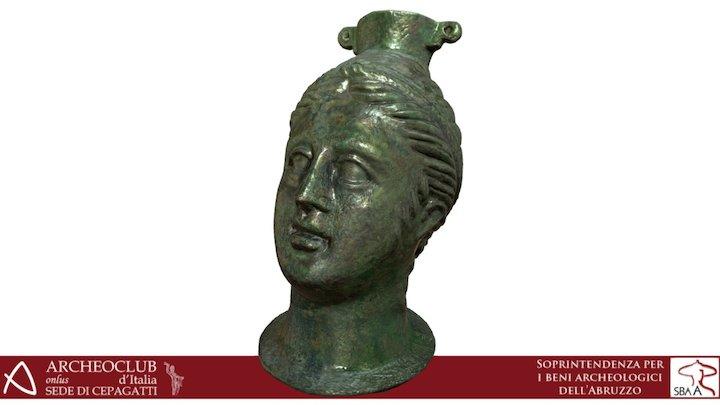 Balsamario in bronzo_II sec. a.C. 3D Model