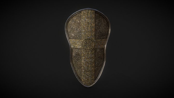 Paladin Shield [Free Download] 3D Model
