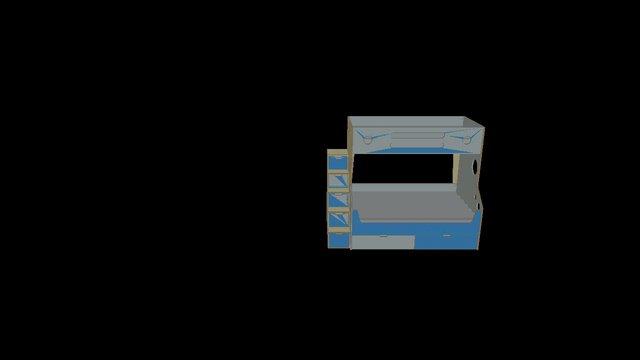 Twindle Bunk 3D Model