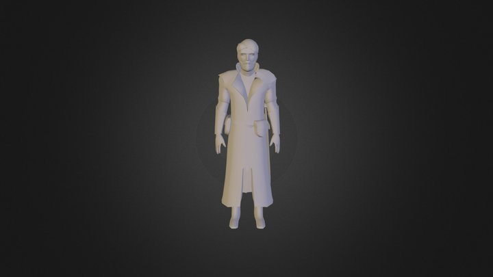 Merchant Character WIP 3D Model