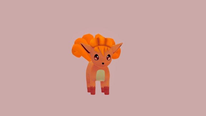 Vulpix - Pokemon 3D Model