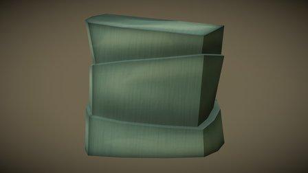 Stones Block 3D Model