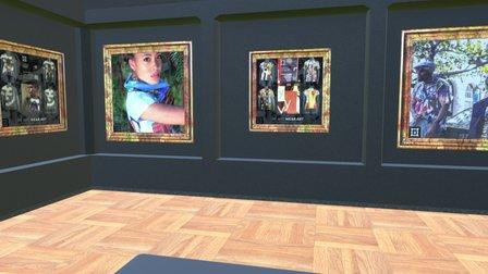 Instamuseum for @behumancanvas 3D Model