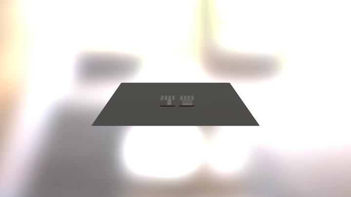 Binchester Presentation 3D Model
