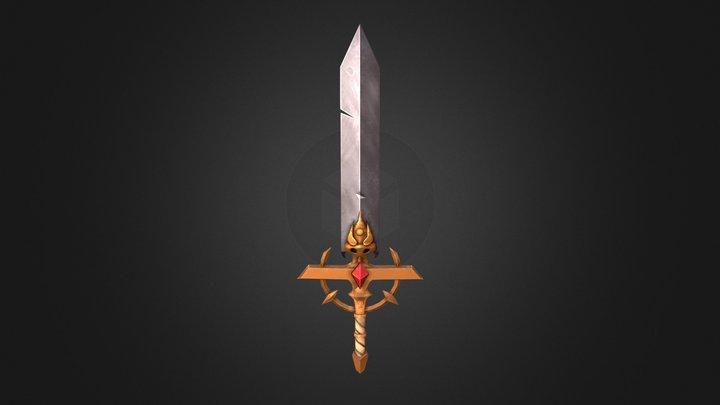 Sword of Frantic - 3D Model 3D Model