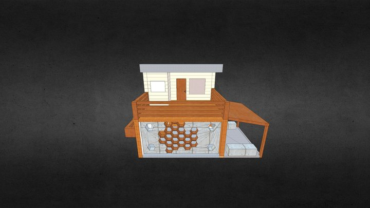 Honey Bee Research Facility 3D Model