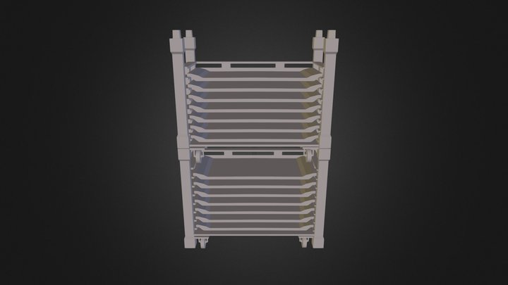 Core Rack 3D Model