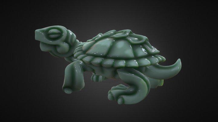 Turtle Sculpt 3D Model
