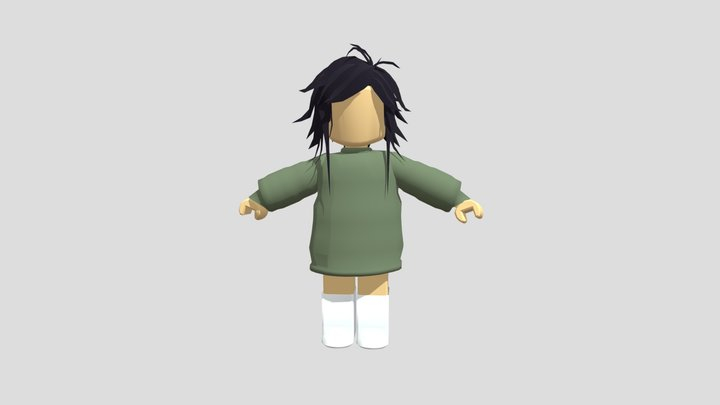Roblox Girl 3D Model