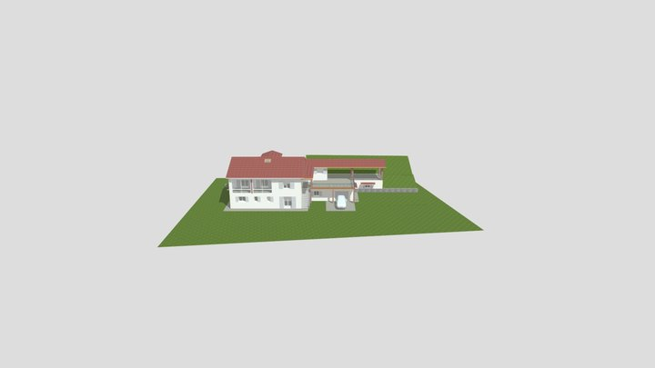 CREATION D'UNE EXTENSION 3D Model