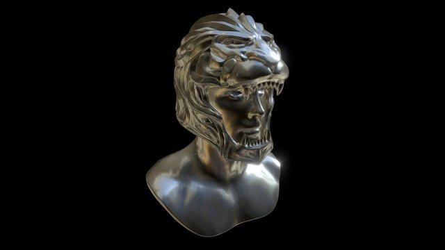 King helmet Warcfart 3D Model