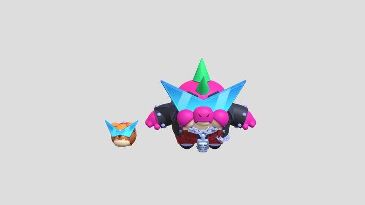 Buzz Punk 3D Model