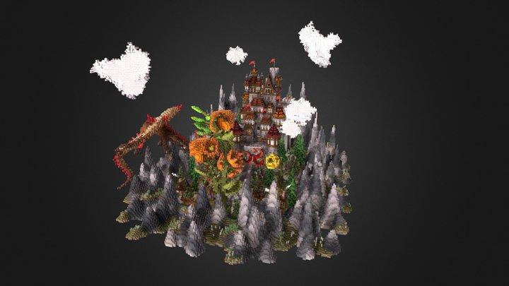 Castle hub 3D Model